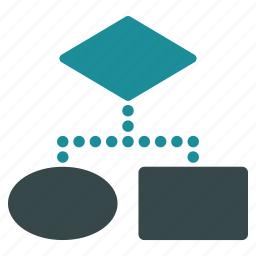 analytics, charts, diagram, flow chart, graph, optimization, process icon