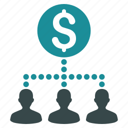 banking, branches, cash flow, diagram, graph, payment, payouts icon