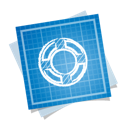 blueprint, help, social icon