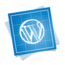 blueprint, social, wordpress icon