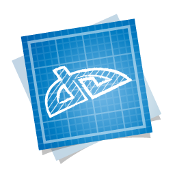 blueprint, deviantart, social icon