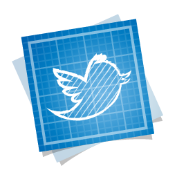 bird, blueprint, social, twitter icon