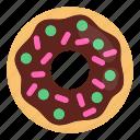 cake, donut, donuts, doughnut, food, ring, sweet icon