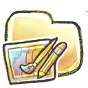 art, folder icon