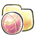 basketball, folder icon