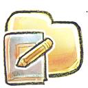 folder, notebook icon