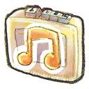 music, recorder icon