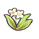 flower, recycle icon