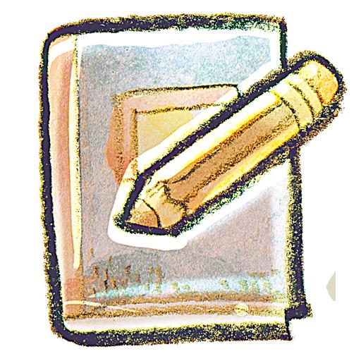 book, edit icon