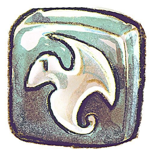 d, maya icon