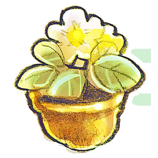 flower, flowerpot icon