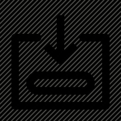 arrow, arrows down, down, download, move, navigation, save icon