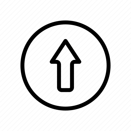 Arrow, up, upload, direction icon - Download on Iconfinder