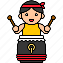 festival, dragonboat, chinese, culture, drum, drummer
