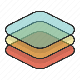 add, layer, layers, stack icon
