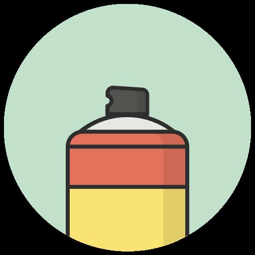 can, design, graphic, spray, spraycan, tools icon