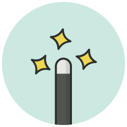 magic, spell, tool, wand, wizard icon