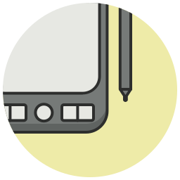 art, design, drawing, graphic, pencil, streamline, tablet icon