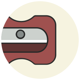 office, pencil, sharpener, sharpner, stateonery, tool icon