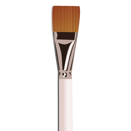 brush, painting, pennello icon