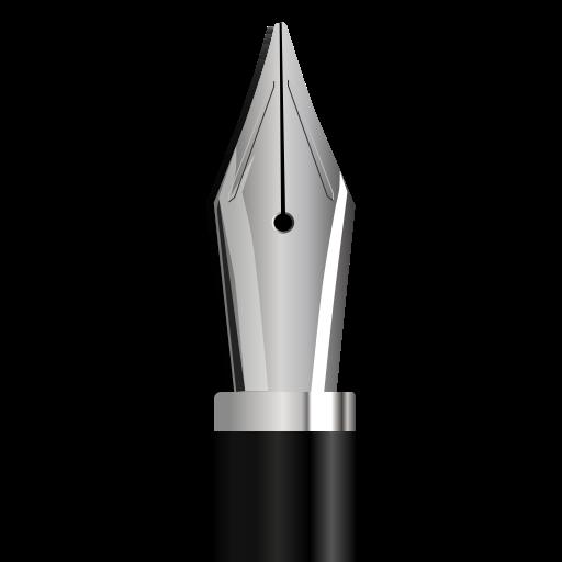 fountain, pen icon