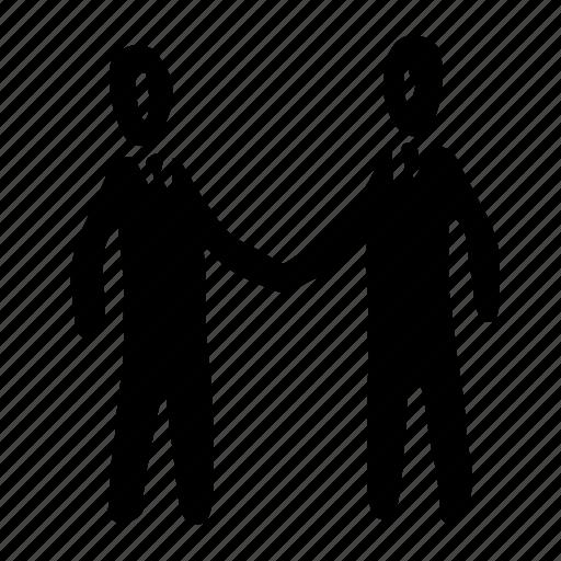avatar, group, handshake, man, people, person, user icon