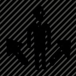 arrows01, avatar, man, people, person, profile, user icon