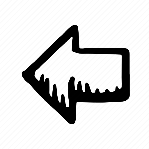 arrow, direction, left, location, move, navigation icon