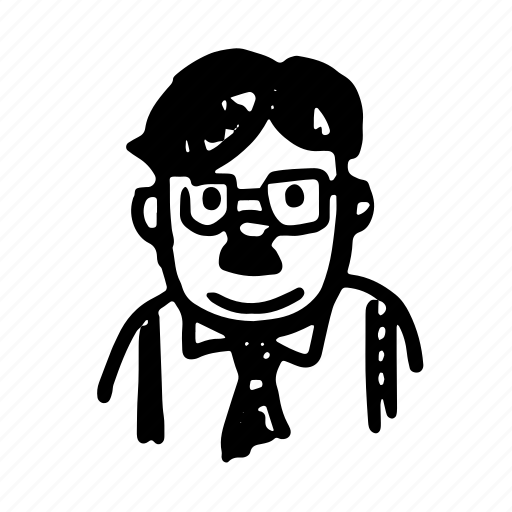 character06, man, old, teacher icon