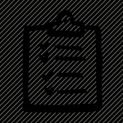 checklist2, paper, report, task, tasks icon