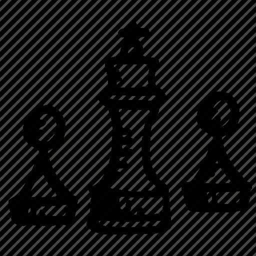 board, casino, chess, knight, pawn icon