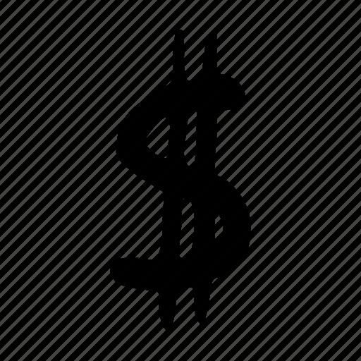 bank, banking, coin, dollar, finance, marketing icon