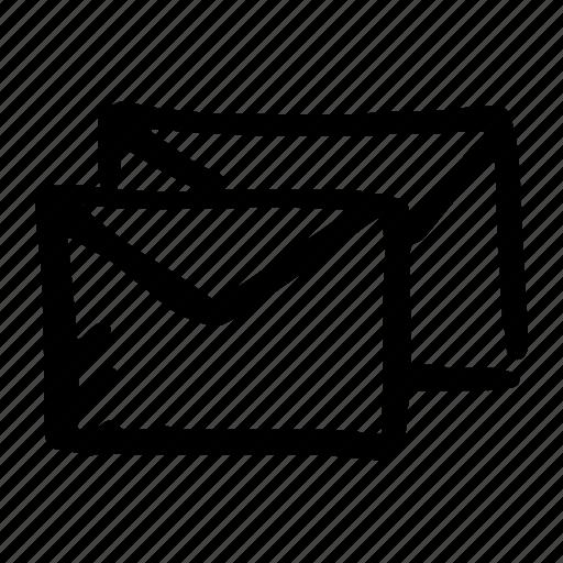 document, email, envelope, envelopes, format icon