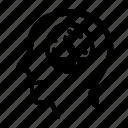 animal, gauge, head, idea, people icon