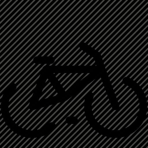 bicykle, bike, city, dream, sport icon