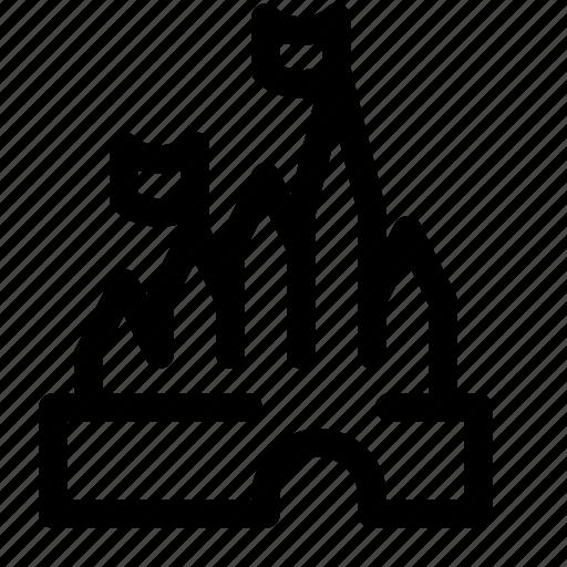 Disney Castle Logo Outline Png