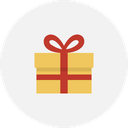 christmas, delivery, gift, holiday, present, xmas icon