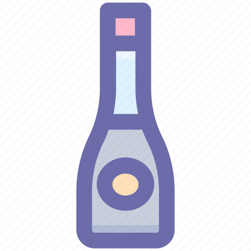 .svg, alcohol, alcoholic beverage, alcoholic drink, corked bottle, drink icon