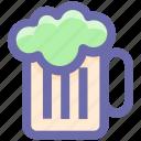 .svg, alcohol, alcoholic beverage, ale, beer mug, cold beer, mug of beer icon