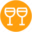 .svg, beverage, champagne glasses, champagne toast, cheers, drink icon