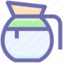 .svg, glass jar, jar, jug, milk, milk jug, pot icon