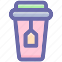 .svg, beverage, cup, drink, glass, tea, tea glass icon