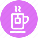 .svg, cup and tea bag, hot drink, instant tea, tea, tea cup icon