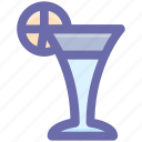 cool drink, deer, drink, glass, wine icon
