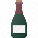 bottle, drink, drinks, wine icon