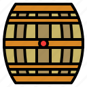 alcohol, barrel, drink, whiskey, wine icon