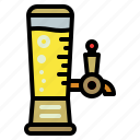 alcohol, bar, beer, drink, tower icon