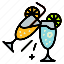 alcohol, cheers, cocktail, drink, glass