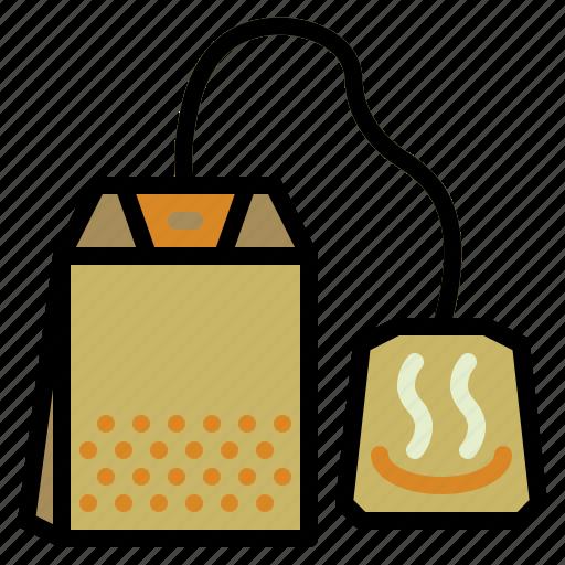 bag, drink, herbal, tea icon