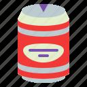 can, drink, soda, soft